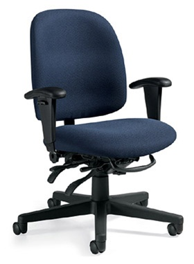 Global Granada Low Back Multi Tilter Task Chair 3212
