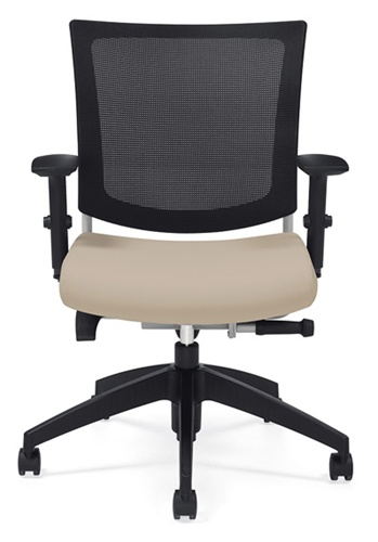 Global Graphic Mesh Back Office Chair 2738MB