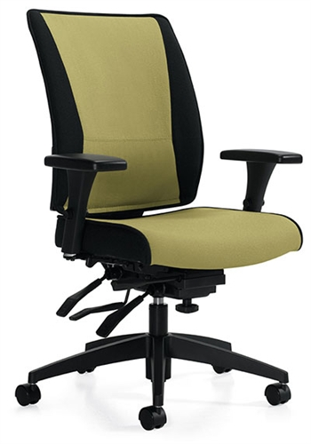 Global High Back Takori Multi-Tilter Task Chair 6680-3