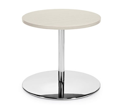 "Global Jeo Series 24"" Round End Table 8435-22-24"
