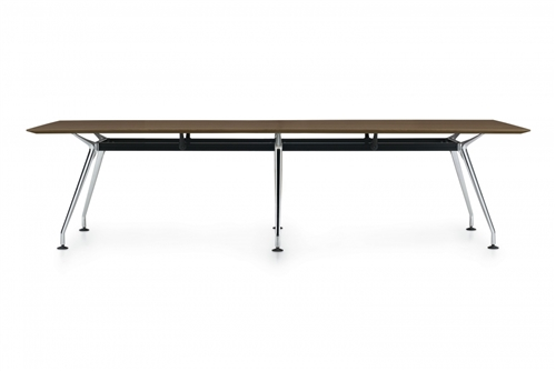 Global Kadin 10' x 3' Rectangular Conference Table LKD36120