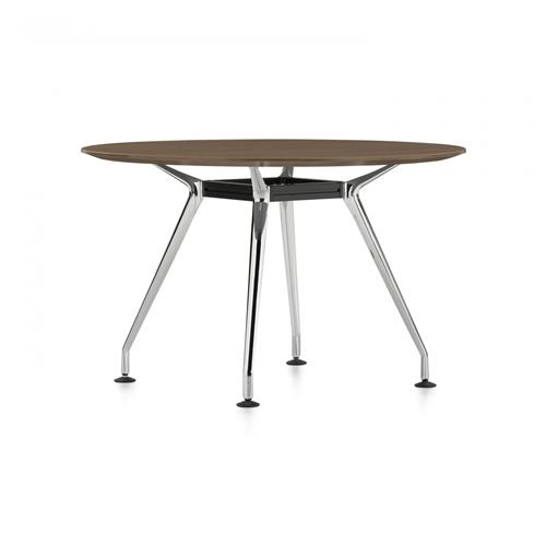 "Global Kadin 48"" 4-Leg Round Table LKD448DIA"
