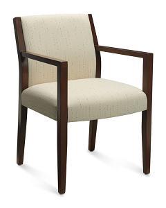 Global Layne Luxury Wood Guest Chair 8521T