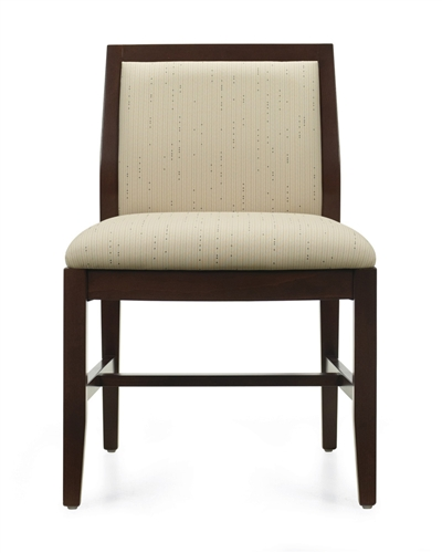 Global Layne Series Armless Wood Guest Chair 8520T