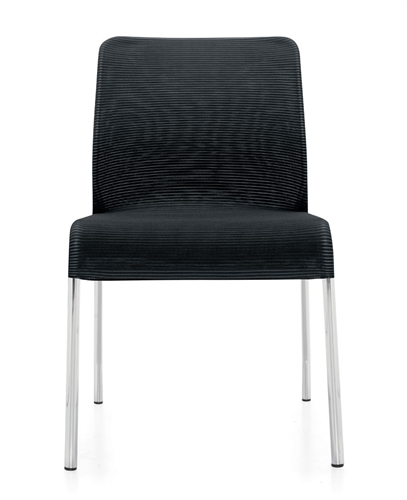 Global Lite Series Armless 4 Leg Mesh Guest Chair 5940 (24 Color Options Available!)