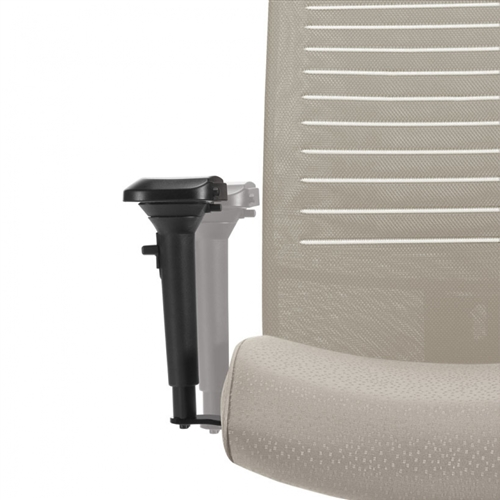 Global Loover Extended Back Office Chair 2660-4