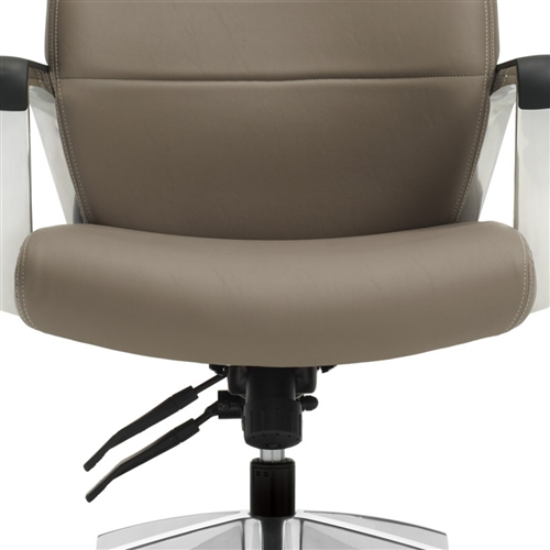 Global Luray 6461LM Custom High Back Office Chair with Leather Upholstery