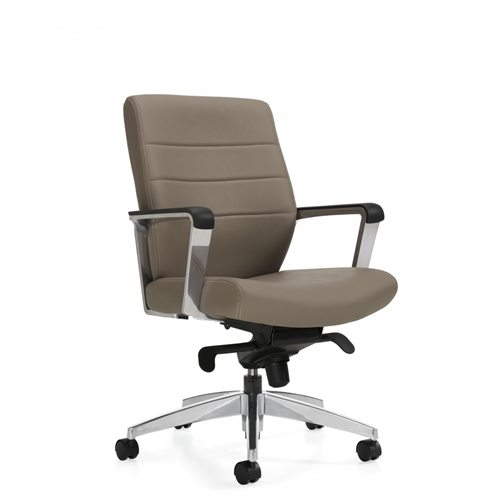 Global Luray 6462lm 2 Leather Office Chair