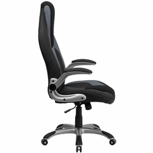 Flash Furniture Contemporary Gray Vinyl Ergonomic Chair