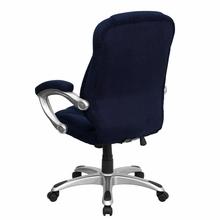 Flash Furniture Contemporary Navy Microfiber Desk Chair