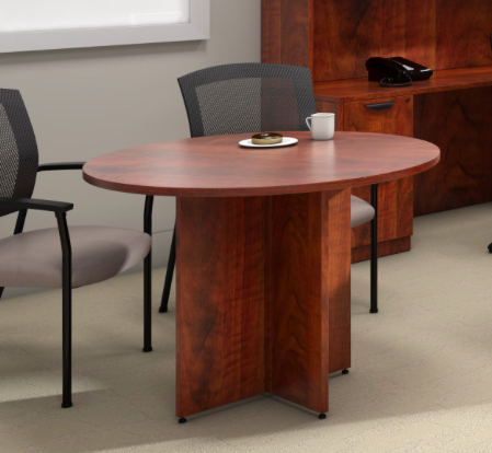"""42"""" Dark Cherry Superior Laminate Table by Offices To Go"""