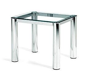 Global Modern Glass End Table XG3