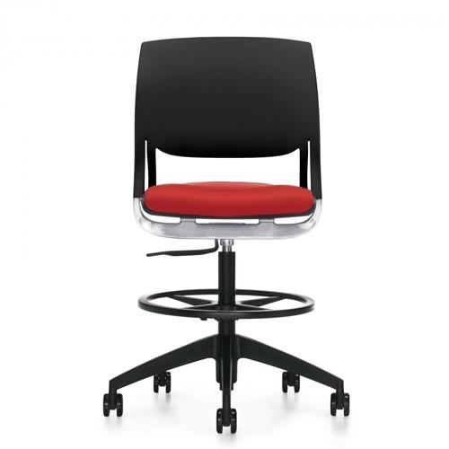 Global Novello Armless Modern Drafting Chair 6411
