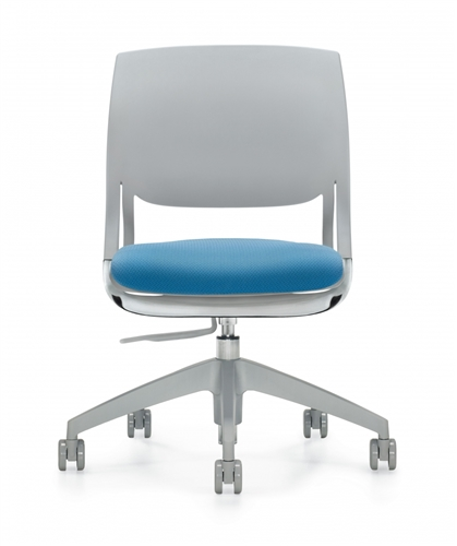 Global Novello Series Armless Modern Task Chair 6401
