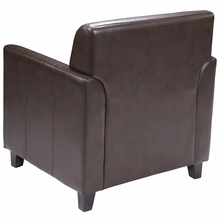 Flash Furniture Diplomat Series Brown Leather Lounge Chair