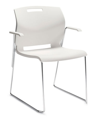 Global Popcorn Series Stackable Armchair 6710