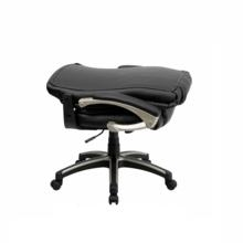 Flash Furniture Folding Black Leather Office Chair