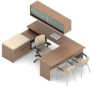 Global Princeton Modular Executive Desk A4G
