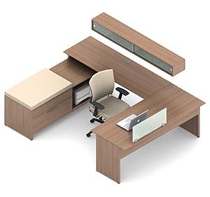Global Princeton Modular Executive Desk A4I