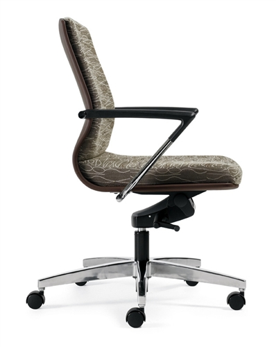 Global Priority Mid Back Office Chair 8491