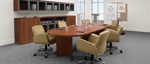 Global Racetrack Boardroom Table A