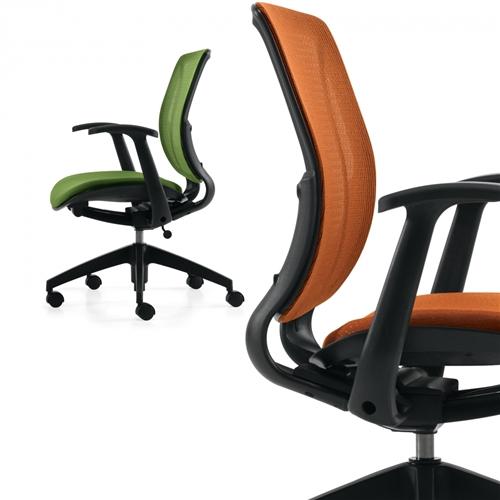 Global Roma Mesh Back Ergonomic Office Chair 1906
