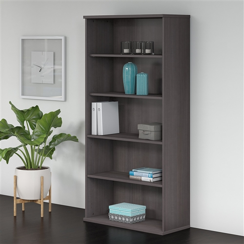 Bush Studio C 5 Shelf Bookcase
