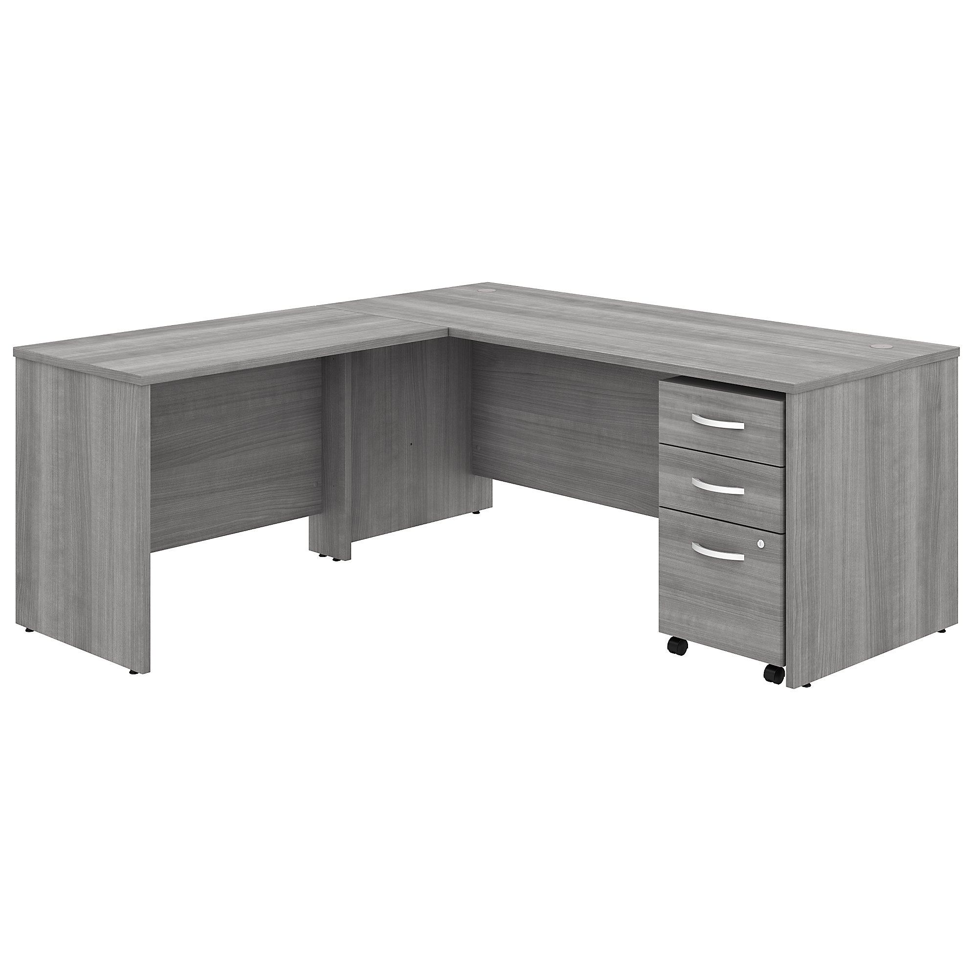 Bush Studio C 72W x 30D Desk with 42W Reversible Return STC007