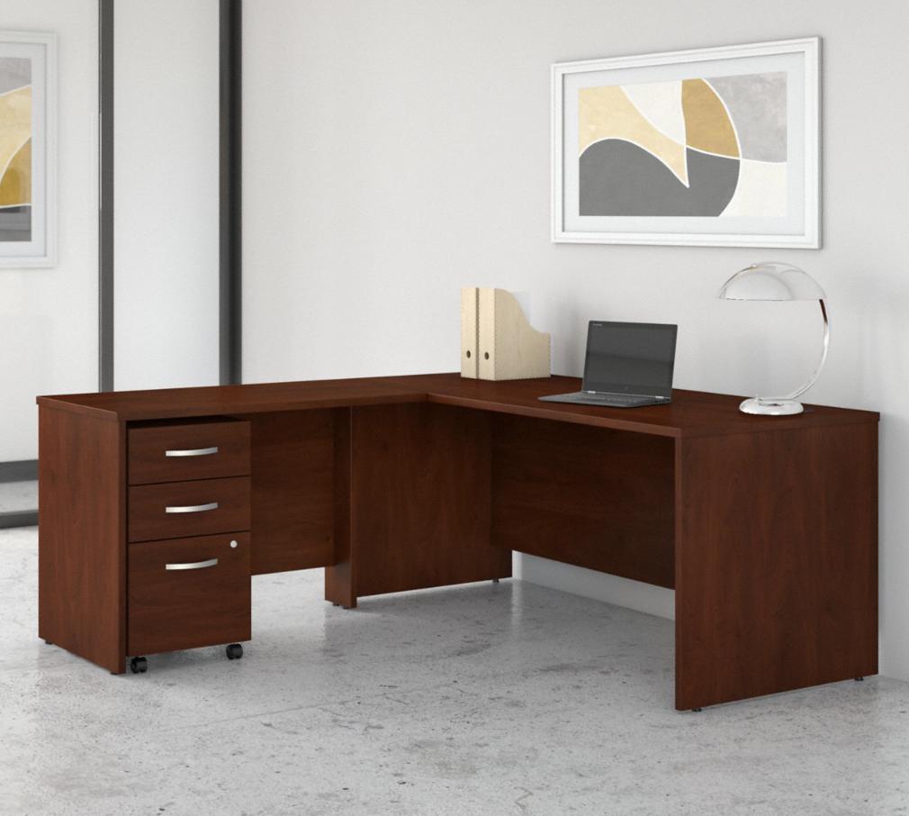 Bush Studio C 72W x 30D Desk with 42W Reversible Return STC007
