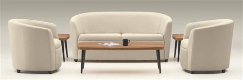 Global Sirena Series 3 Piece Leather Reception Furniture Set