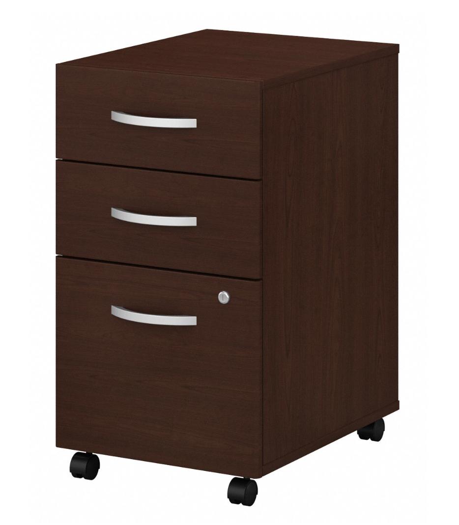 Bush Studio C Mobile 3 Drawer File Pedestal