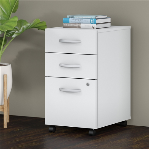 Bush Studio C Mobile 3 Drawer File Pedestal