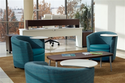 "Global Sirena Series 56"" Reception Area Coffee Table 3401"