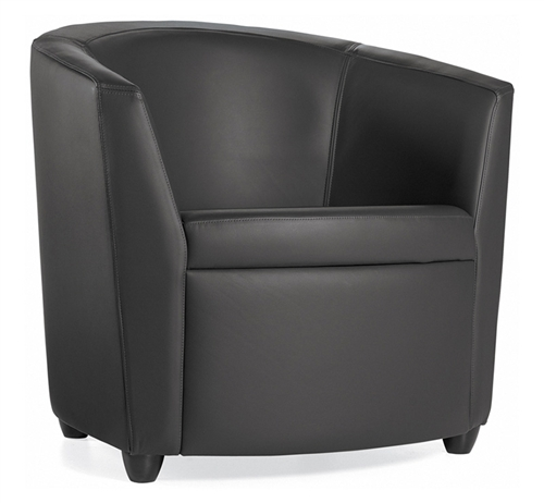 Global Sirena Series Contemporary Leather Lounge Chair 3371LM