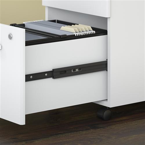 Bush Studio C Series 2 Drawer Mobile File Cabinet