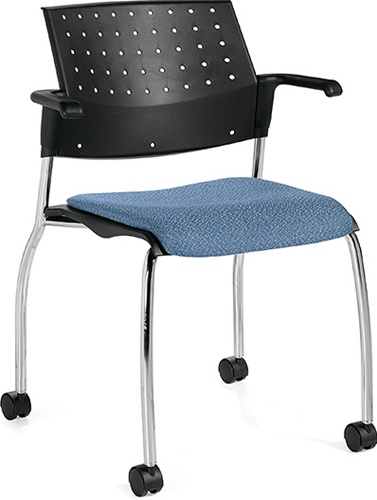 Global Sonic Guest Training Room Chair 6574