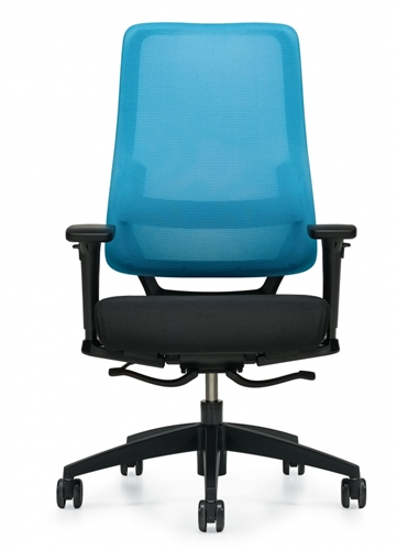 Global Sora High Back Weight Sensing Synchro Tilter Chair 6941