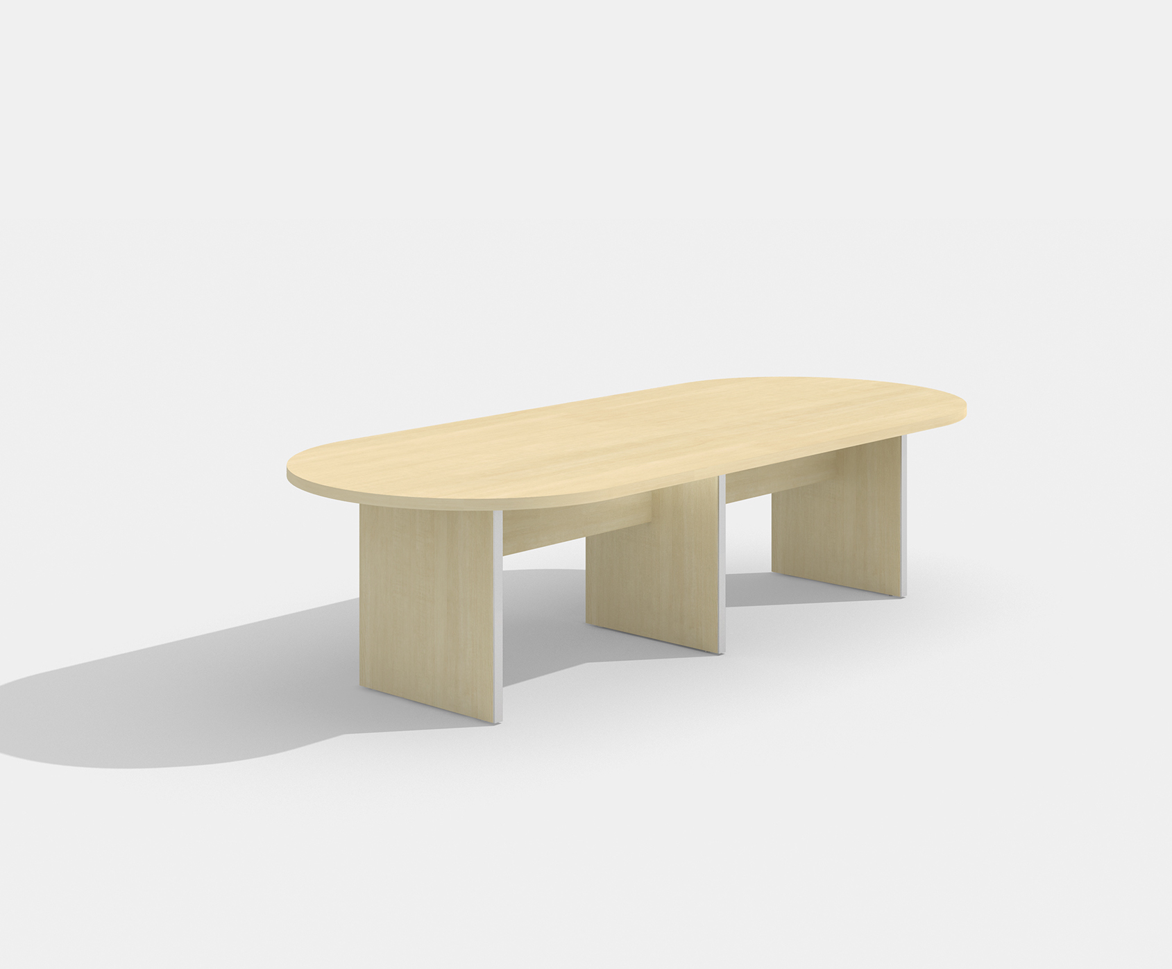 amber maple conference table am-408n