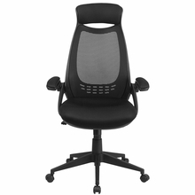 Flash Furniture High Back Executive Mesh Office Chair with Flip Arms