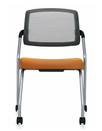 Global Spritz Armles Flip Seat Training Room Office Chair 6764C
