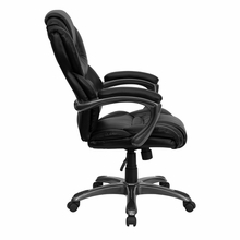 Flash Furniture High Back Leather Executive Chair GO-901-BK-GG