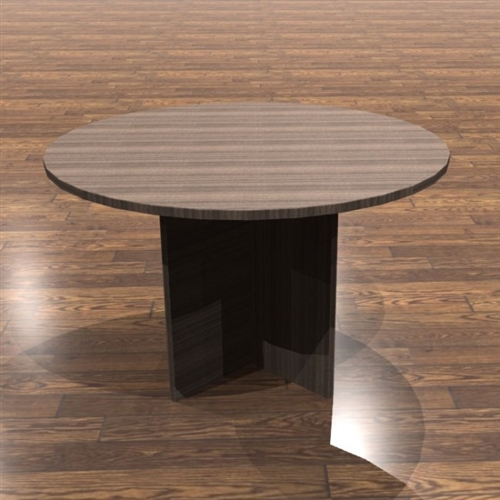 cherryman amber series round conference table