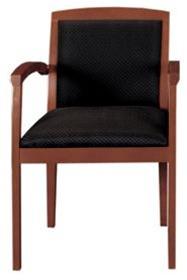 cherryman amber wood guest chair