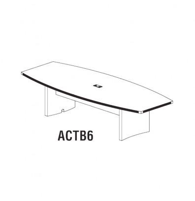 actb6 6' aberdeen table