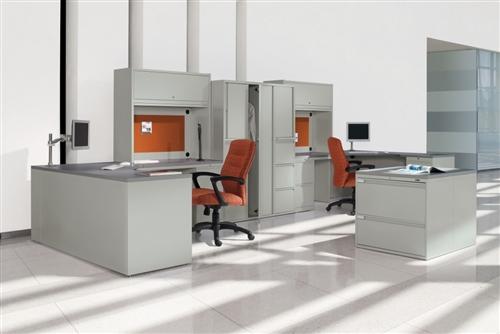 Global StreamLINE Series Heavy Duty Executive Desk STM503R
