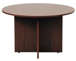 """42"""" amber meeting table by cherryman"""