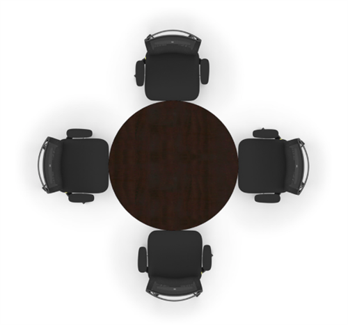 cherryman amber round conference table a726