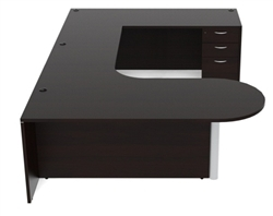 cherryman amber am-365 u-desk configuration