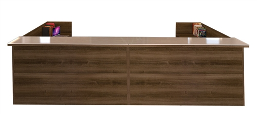 cherryman amber u shaped reception desk