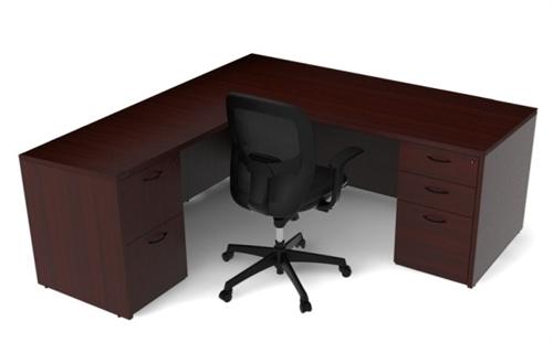 cherryman amber l-desk am-312n